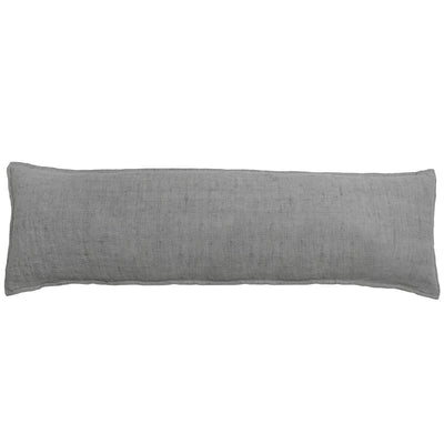 The Leon Body Pillow - Ocean is a simple ocean linen body pillow.