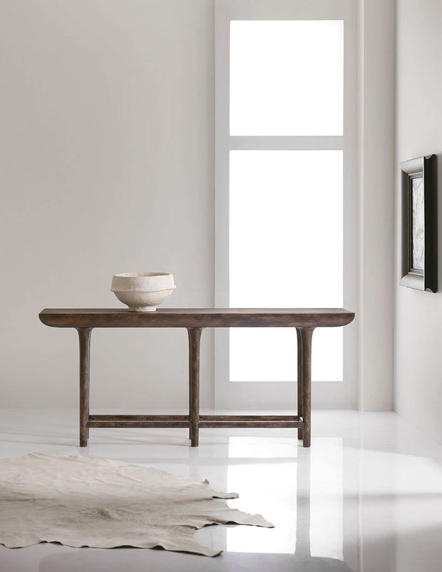 The Altona Console Table in a modern dining room.