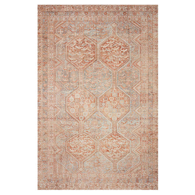 The Nassau Rug is made of 100% polyester and features a cotton acking making it durable in high-traffic areas of your home.