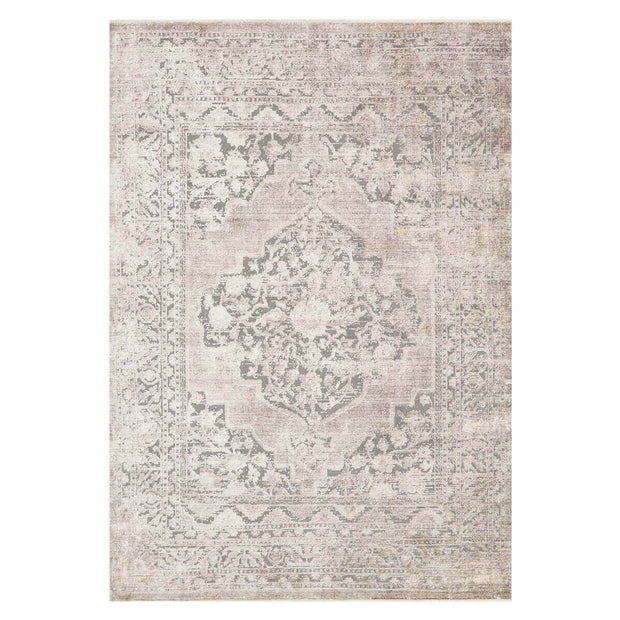 Salina Taupe Rug. Neutral Turkish rug. Earthly looking rug for your living room.