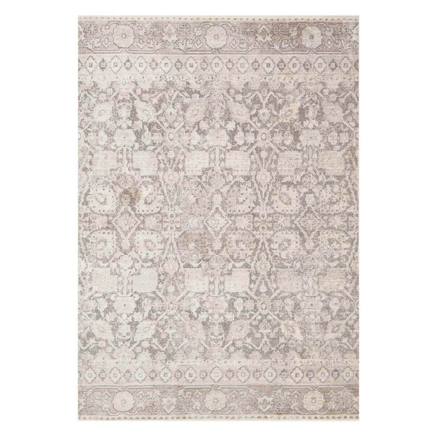 Salina Grey / Taupe Rug. Soft neutral patterned rug.