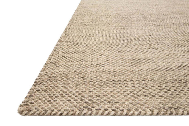 Colour and texture of the Tabuk Wheat Rug. Durable, dye-free rug. Handwoven natural rug.