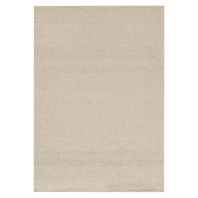 Tabuk Gravel Rug. Flat woven, dye-free rug. Light brown rug.