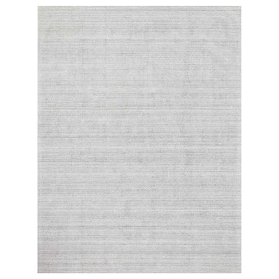 Huntington Fog Rug. Handloomed, soft rug. Light blue and grey rug. Fog coloured soft rug.