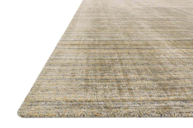 Huntington Gold Rug. Hand loomed, soft gold rug.