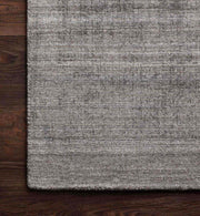 Texture and colour details of Huntington Smoke Rug.