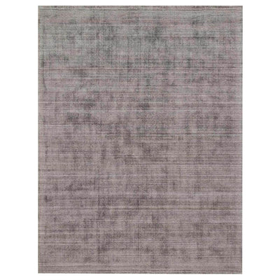 Huntington Smoke Rug. Viscose, wool rug. Hand loomed in India.