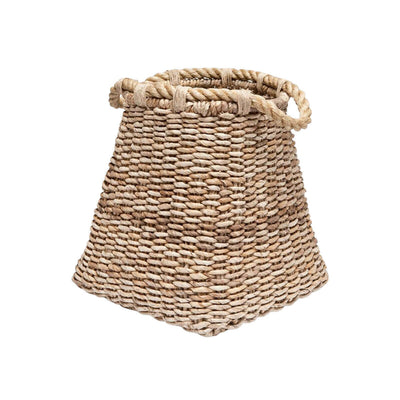 The Molokini Basket is a large volcano basket made from woven banana leaf.