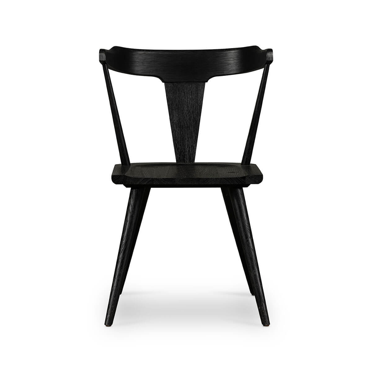 Hinton Dining Chair Black Oak West Of Main