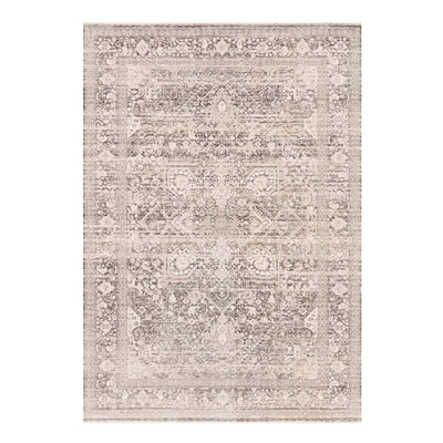 Power loomed rug made in Turkey with traditional colours and patterns.