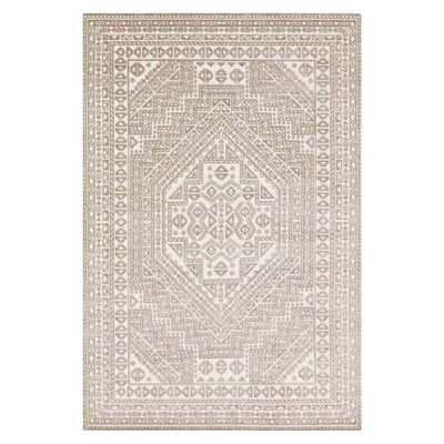 The Marlo Charcoal / White Rug is a traditional geometric rug with a neutral colour palette.
