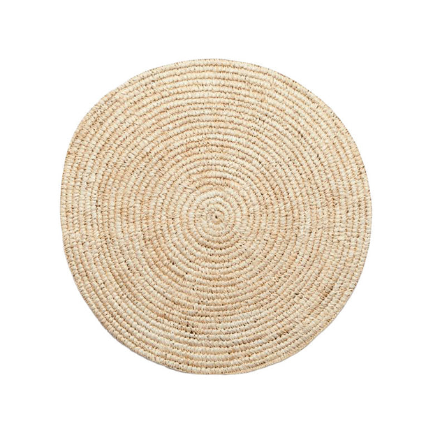 The Hawaii Wall Basket is a 20 inch round, woven wall basket made from neutral sisal fibres.