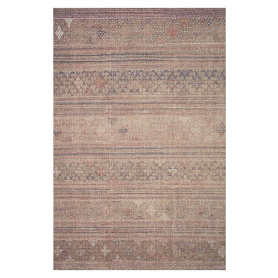 The Sandstone Bark Rug features old-world styles charm in a muted brown palette feature pops of different colours. The rug is power loomed of 100% polyester and features a subtle patina.
