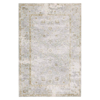 Bergen Sea Rug. Rug with a muted colour pattern. Seafoam rug. Affordable neutral rug.