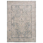 The Cassis Sky / Natural Rug is a neutral, vintage inspired rug.