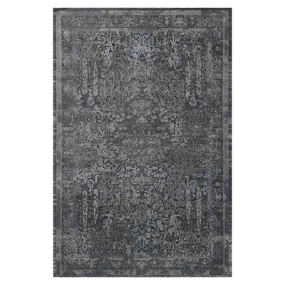 Cambridge Grey Rug. Power loomed polyester tug. High durability rug.