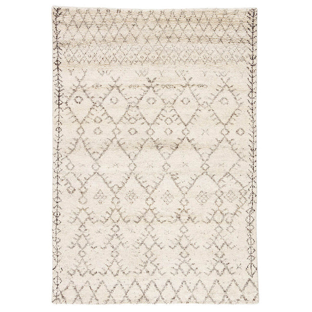 Merzouga Turtledove / Walnut Rug. Distressed pattern rug. Neutral rug. Moroccan style rug.