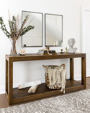 Zeolite Crystal on console, lifestyle photo.
