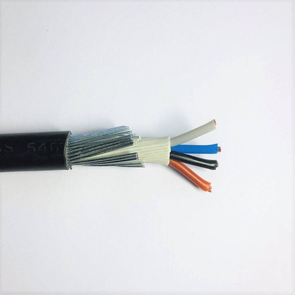 4 x2.5mm SWA Cable