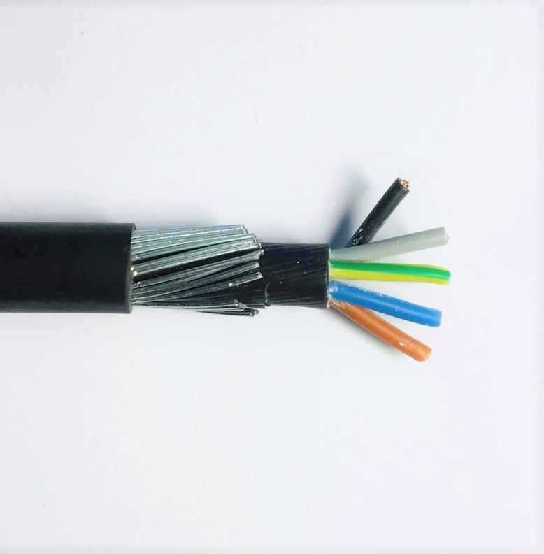 5 x2.5mm SWA Cable