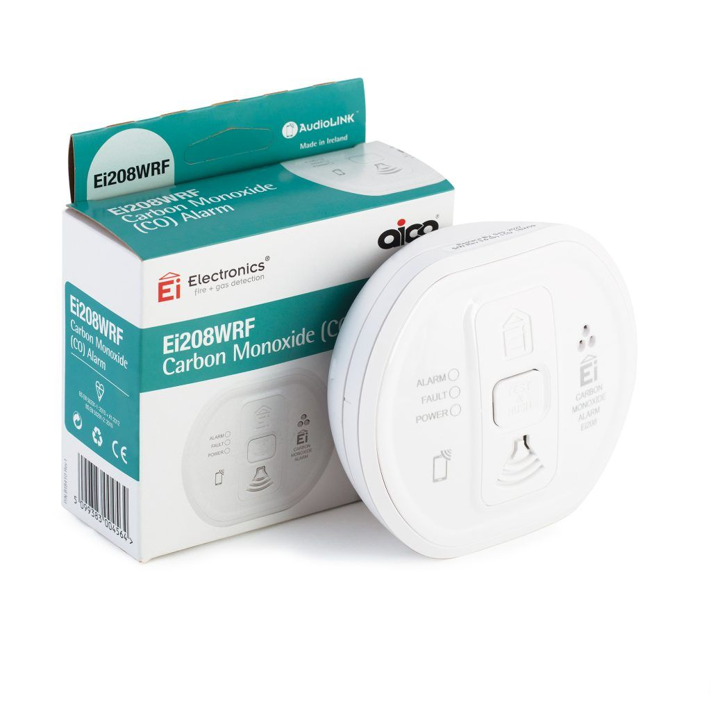 Ei Carbon Monoxide Alarm - Mains/Battery back-up