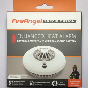 FireAngel - 10 year Battery Powered Heat Alarm