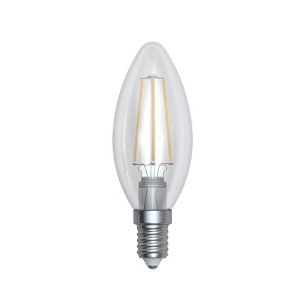 LED Dimmable Candle - Clear