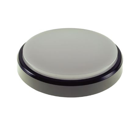 SGD-18W LED Round Bulkhead (Black/White Trim)