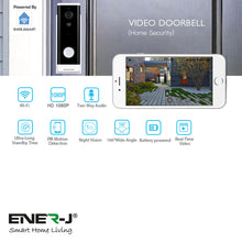Load image into Gallery viewer, Smart Wi-Fi Video Doorbell (with Chime)