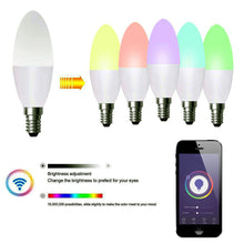 Load image into Gallery viewer, Smart WiFi LED Candle Lamp 4.5W