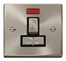 Load image into Gallery viewer, Deco Satin Chrome - Switched Spur unit Neon