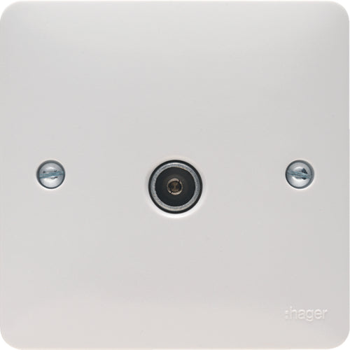 Hager -  TV Socket Female