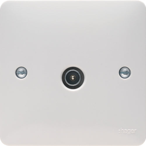 Hager -  TV Socket Male