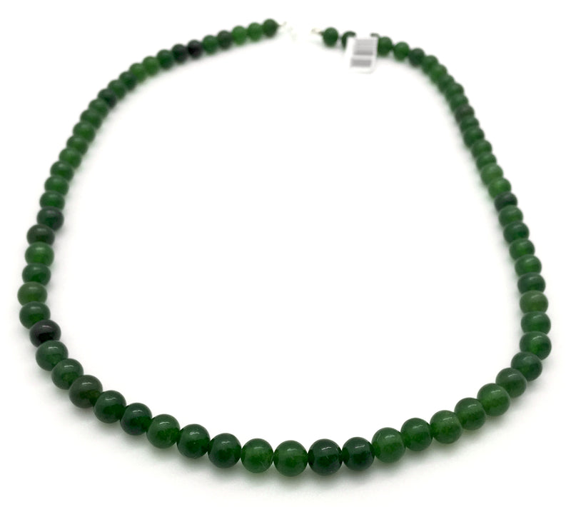 8mm Jade Beads Necklace