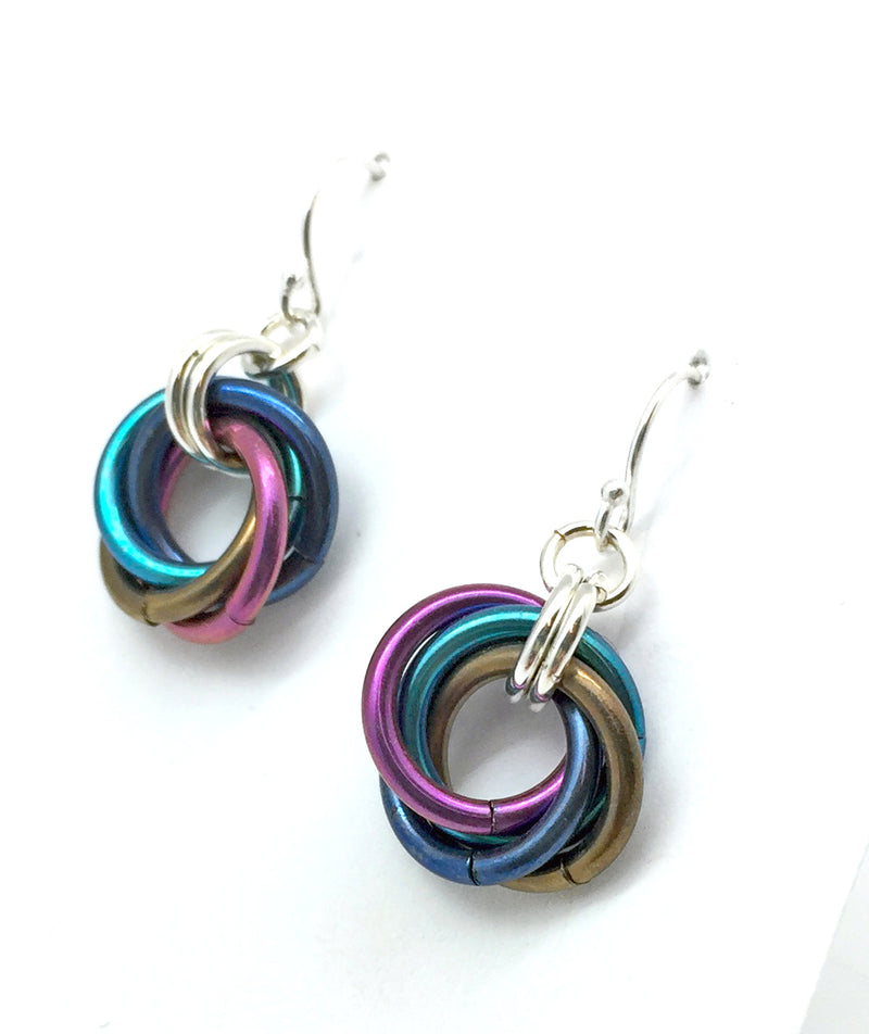 Aurora Mobius Earrings