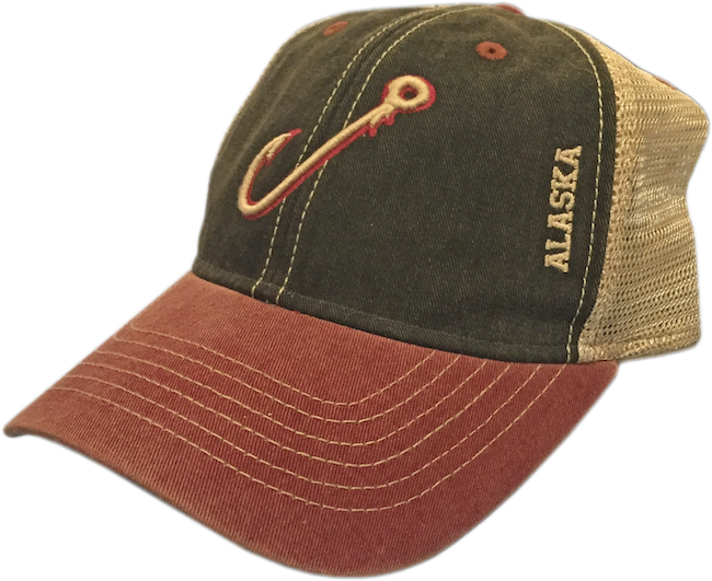 Fish Hook Trucker Baseball Hat