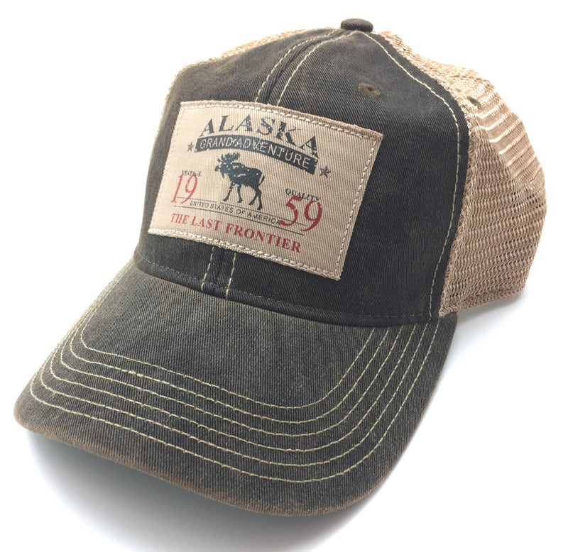 Traveler Patch Alaska Trucker Baseball Hat