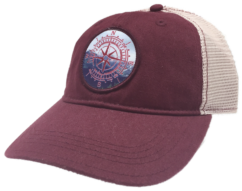 Compass Rose Alaska Trucker Hat