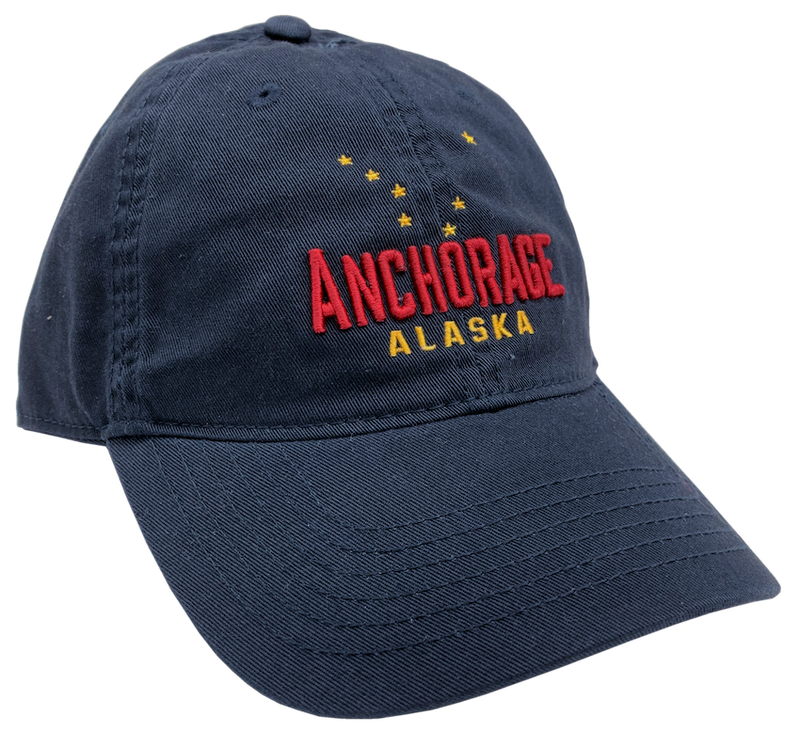 Anchorage Alaska Embroidered Baseball Hat