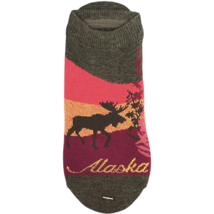 Moose Sunset Ankle Socks