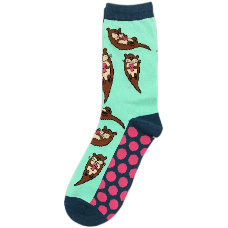 Otters Ladies Crew Socks