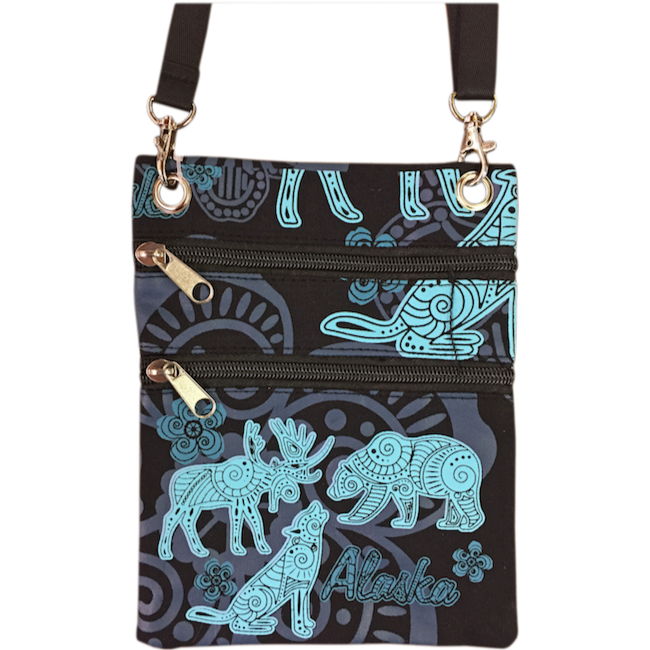 Batik Animals Passport Purse