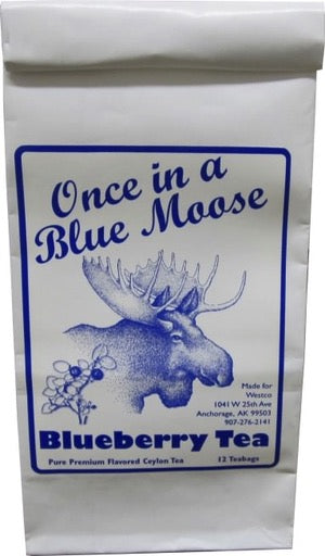 Blue Moose Blueberry Tea