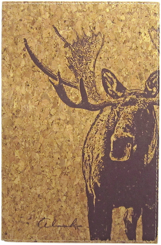 Moose Cork Alaska Notebook