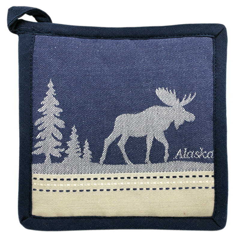 Moose Alaska Hot Pad