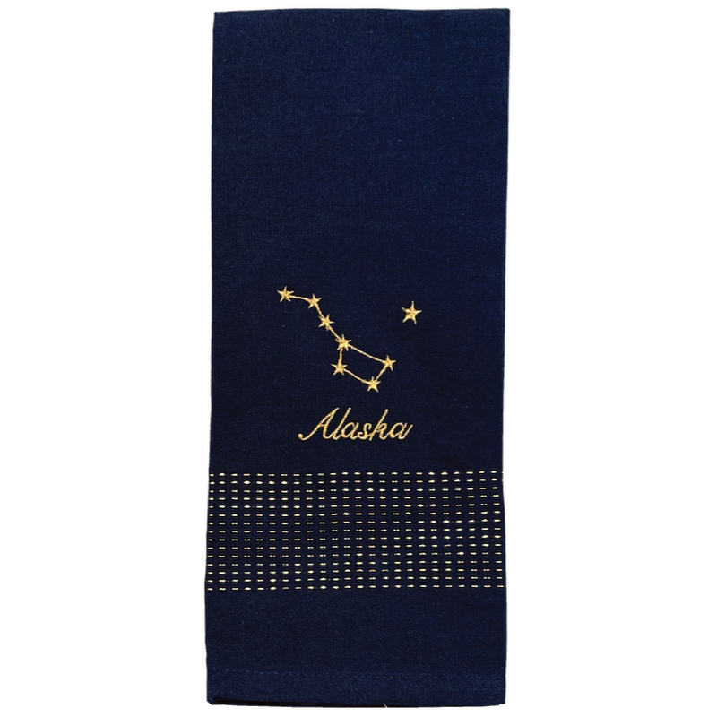 Alaska Big Dipper Constellation Towel
