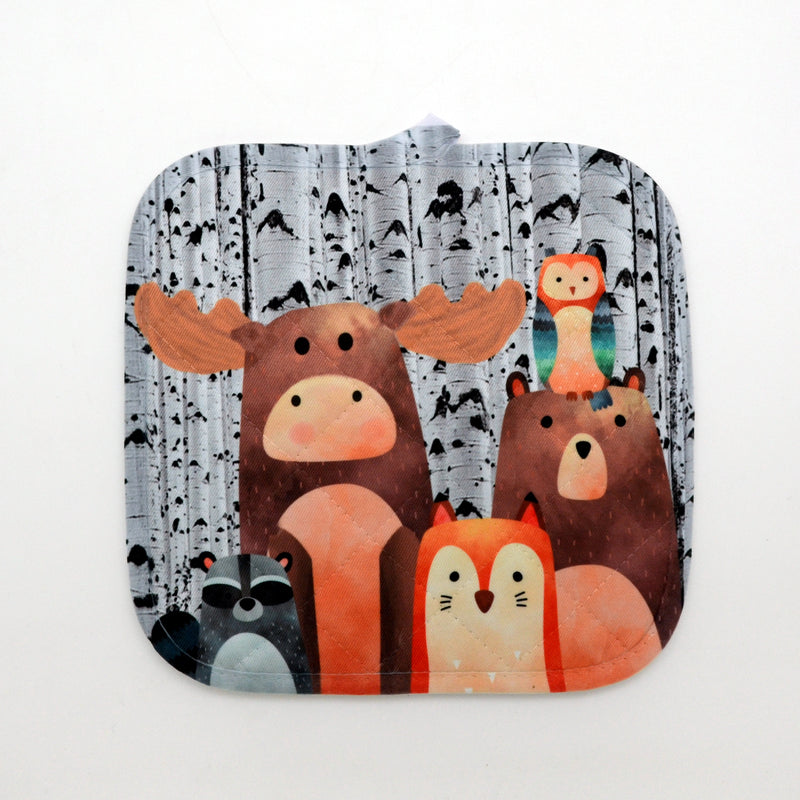 Forest Friends Pot Holder