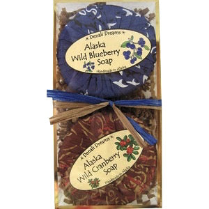 Wild Cranberry & Blueberry Soap Pack