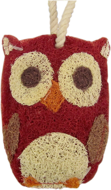Red Owl Kitchen Scrubber Loofah