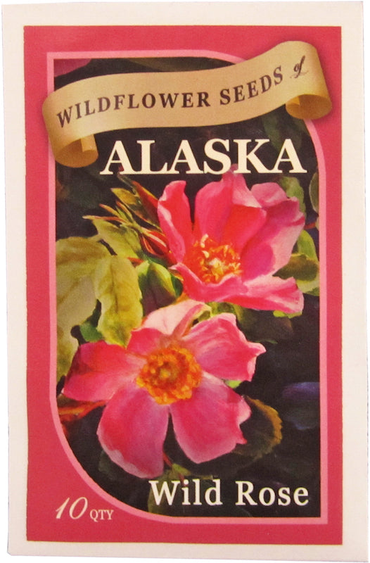 Wild Rose Seed Packet